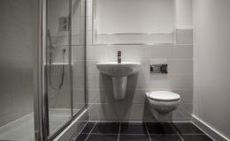 Stylish clean bathroom